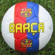 Кожена футболна топка  BARCELONA